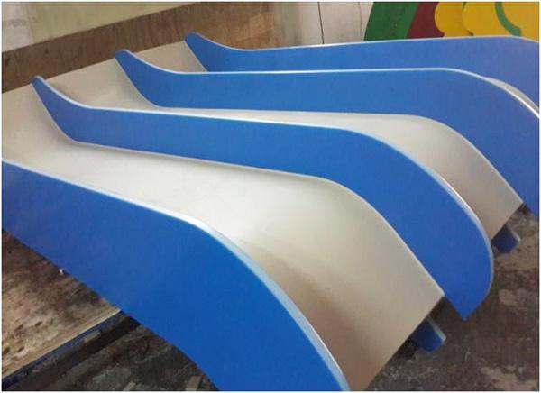 HDPE Triple Slide