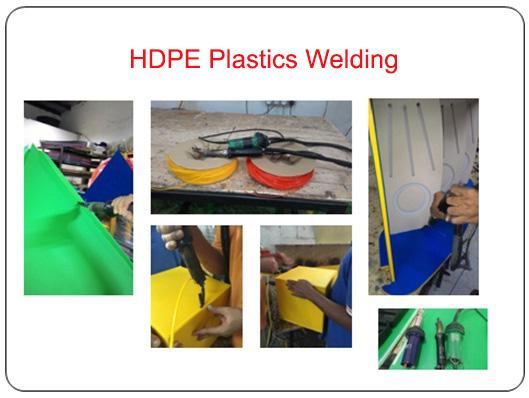 HDPE Plastics Welding
