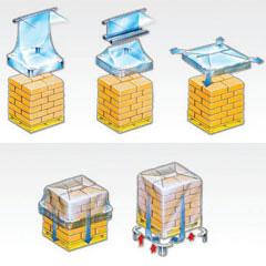 Plastic Pallet Hoods Manufacturers